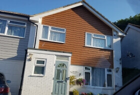 Wooden Cladding Painting Milton Keynes